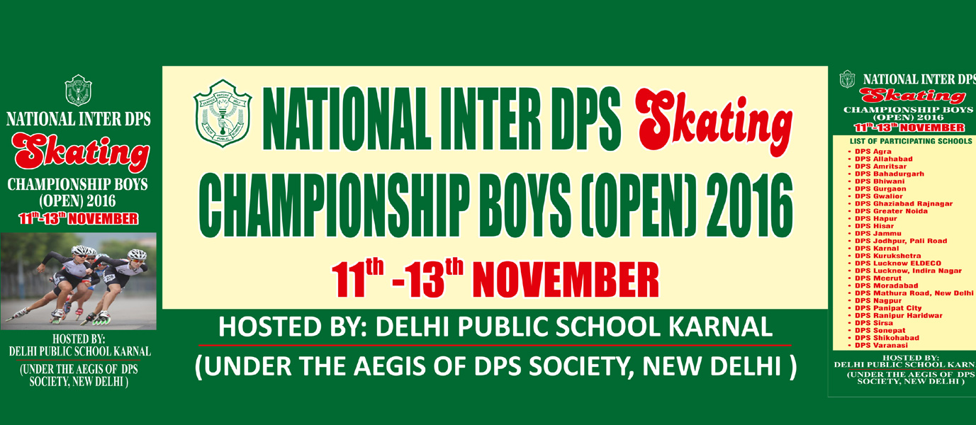 dps inter school skating