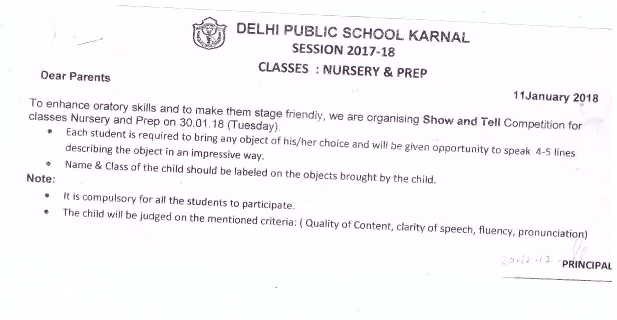 DPS - Delhi Public School Karnal - Downloads